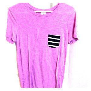 Purple Victoria Secret T-shirt